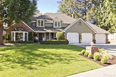 Sammamish Single Family Home For Sale: 20427 NE 35th St
