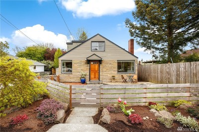 Seattle Single Family Home For Sale: 6542 23rd Ave NE