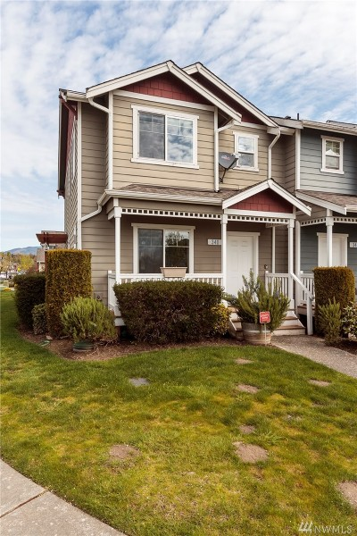 Sedro Woolley Condo/Townhouse Sold: 340 Helen St