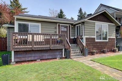 Seattle Single Family Home For Sale: 9822 45th Ave SW
