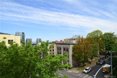 King County Condo/Townhouse For Sale: 1323 Boren Ave #510