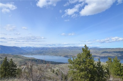 Chelan, Chelan Falls, Entiat, Manson, Brewster, Bridgeport, Orondo Residential Lots & Land For Sale: 294 Hawk's Ridge Rd