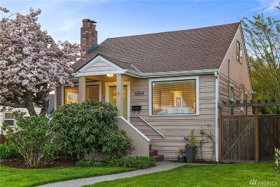 Seattle Single Family Home For Sale: 3804 SW Holden St
