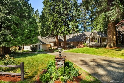 Woodinville Single Family Home For Sale: 15614 NE 179th St