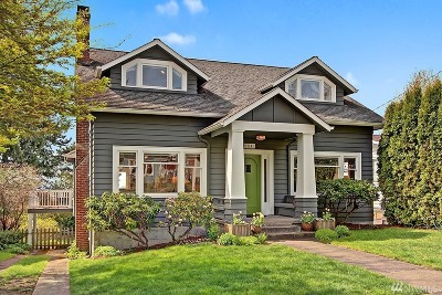 Seattle Single Family Home For Sale: 6541 30th Ave NE