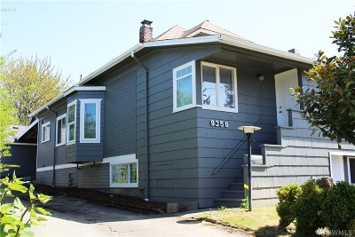 Seattle Single Family Home For Sale: 9356 54th Ave S
