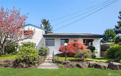 Burien Single Family Home For Sale: 16228 10th Ave SW
