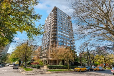 Seattle Condo/Townhouse For Sale: 1120 Spring St #1103