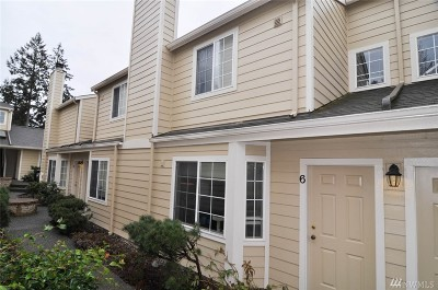 Bellingham Condo/Townhouse Sold: 1249 Puget St #6