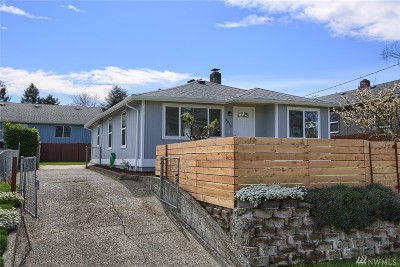 Seattle Single Family Home For Sale: 4835 S Kenyon St