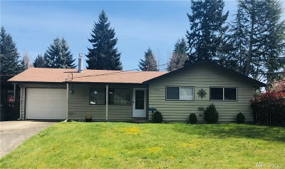 Bellevue Single Family Home For Sale: 16415 NE 12th St