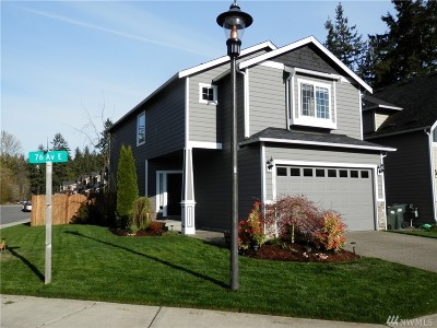 Single Family Home For Sale: 18103 76th Ave E