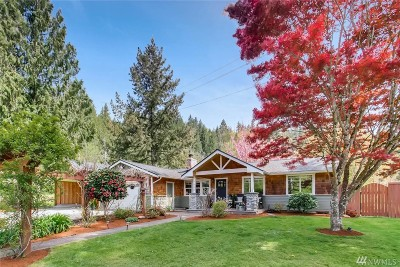 Fall City Single Family Home For Sale: 4660 367th Ave SE