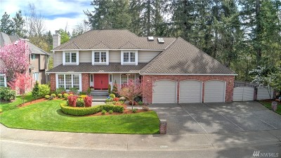 Issaquah Single Family Home For Sale: 26029 SE 39th Wy