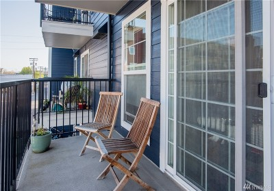 Bellingham Condo/Townhouse Sold: 1031 N State St #203