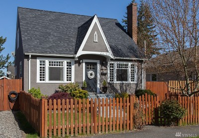 Bellingham Single Family Home For Sale: 1809 J St