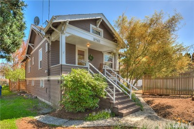 Seattle Single Family Home For Sale: 8746 3rd Ave NW