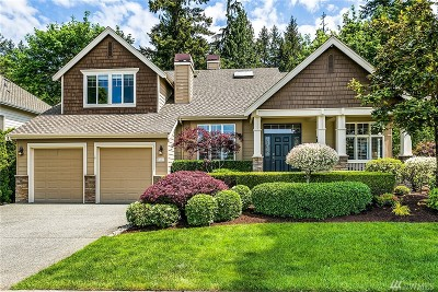 Sammamish Single Family Home For Sale: 2502 206th Place NE
