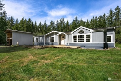 North Bend Single Family Home For Sale: 47209 SE 153rd St