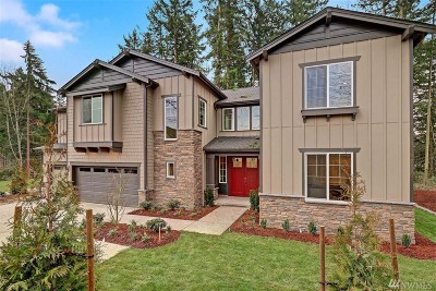 Bothell Single Family Home For Sale: 9219 NE 173rd (Lot 01) St