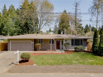 Renton Single Family Home For Sale: 17818 109th Ave SE