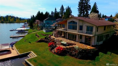 Bonney Lake WA Single Family Home Contingent: $1,199,888