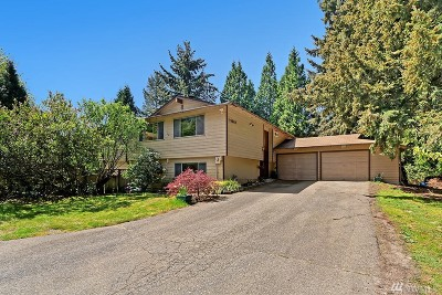 Woodinville Single Family Home For Sale: 13507 NE 186th St