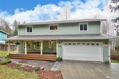 Sedro Woolley Single Family Home For Sale: 778 West Rd