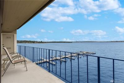 Kirkland Condo/Townhouse For Sale: 6401 Lake Washington Blvd NE #409