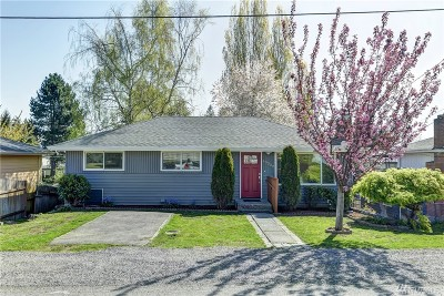 SeaTac Single Family Home For Sale: 15232 30th Ave S
