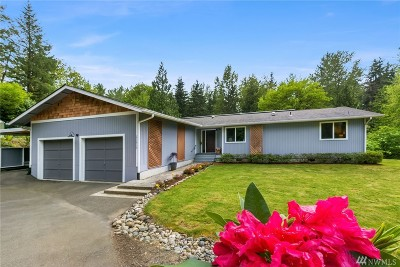 Woodinville Single Family Home For Sale: 23819 NE 190th
