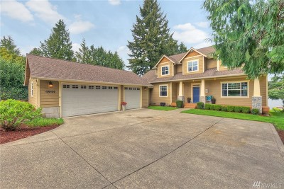 Bonney Lake Single Family Home For Sale: 4944 197th Ave E