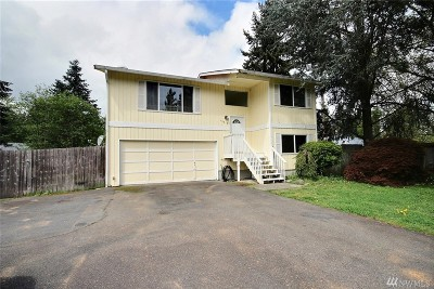 Puyallup Single Family Home For Sale: 15318 121st Av Ct E