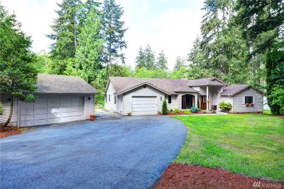 Stanwood Single Family Home For Sale: 19810 Marine Drive