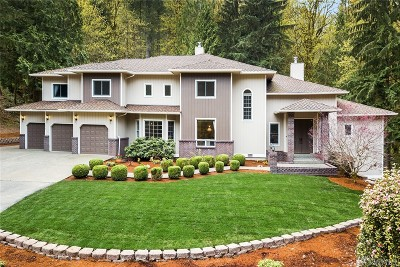 Issaquah Single Family Home For Sale: 20036 SE 95th St