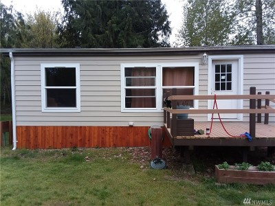 Shelton WA Single Family Home Sold: $220,000