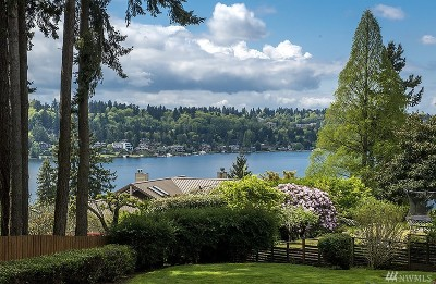 Bellevue Single Family Home For Sale: 10221 SE 23rd St