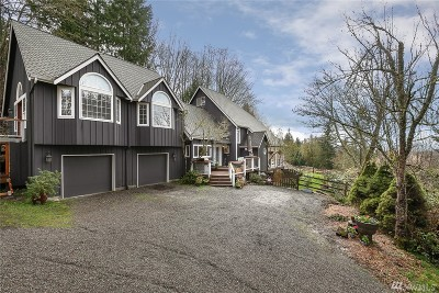 Duvall Single Family Home For Sale: 30202 NE 190th St