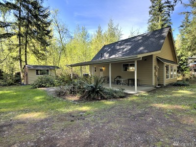 Hoodsport Single Family Home For Sale: 380 N Duckabush Dr E