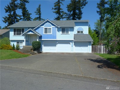 Spanaway Single Family Home For Sale: 7015 196th St Ct E