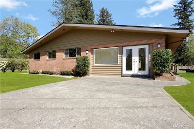 North Bend, Snoqualmie Single Family Home For Sale: 43605 SE Tanner Rd