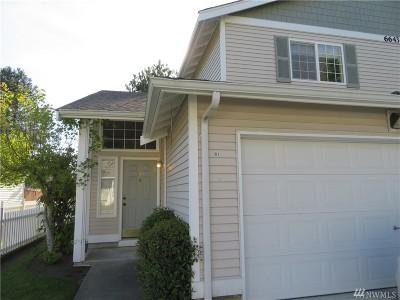 Thurston County Condo/Townhouse For Sale: 6643 Millstone Lane SE #B101