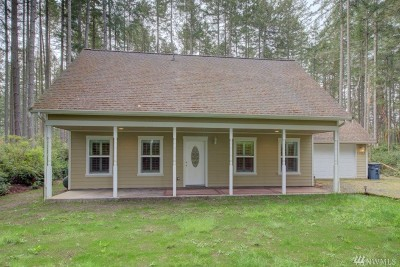 Anderson Island WA Single Family Home For Sale: $270,000