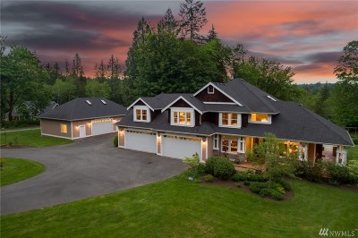 Snohomish Single Family Home For Sale: 9709 163rd Ave SE