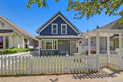 Everett Single Family Home For Sale: 1811 Colby Ave
