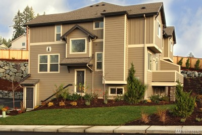 Snohomish Condo/Townhouse For Sale: 1900 Weaver Rd #E-101