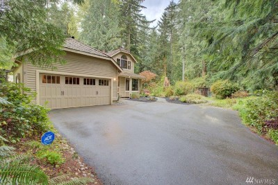 North Bend Single Family Home For Sale: 43105 SE 149th St