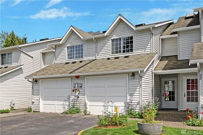 North Bend WA Condo/Townhouse For Sale: $349,950