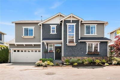 Bothell Condo/Townhouse For Sale: 18331 35th Dr SE