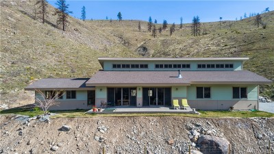 Chelan Single Family Home For Sale: 506 Antoine Creek Rd